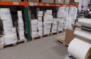 Производство самоклеющихся этикеток - материалы
