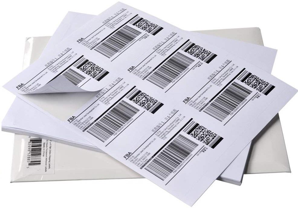 Самоклеящиеся этикетки формата А4 для принтера