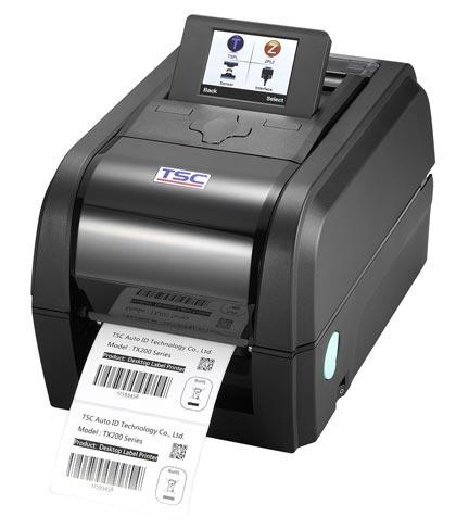 принтер для печати термотрансферных полуглянцевых этикеток