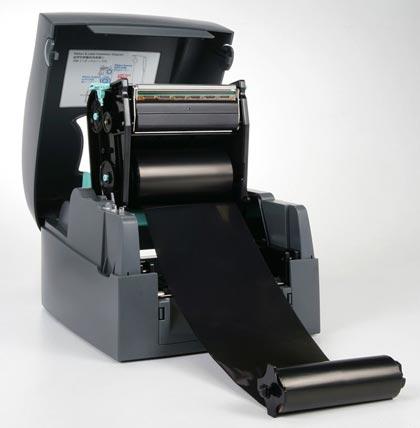 тремотрансферный принтер этикеток с риббоном