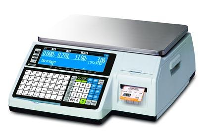 весовое оборудование с печатью этикеток